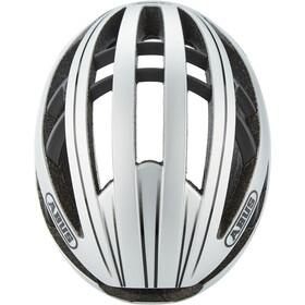 ABUS Aventor Casque pour vélo de route, gleam silver